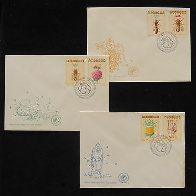 ZS-Z109 POLAND - Bugs, 1997 Fdc Lot Of 3 Covers