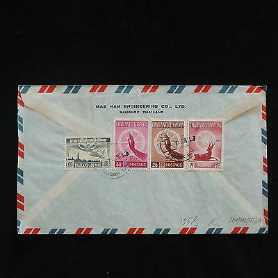 ZS-Z181 THAILAND - Airmail, 1958, To Germany Cover