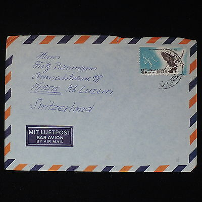 ZS-Z322 MEXICO - Airmail, Registered Mail To Lucerne Switzerland Cover
