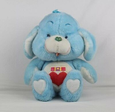RARE Vintage Loyal Heart Dog Plush Care Bear