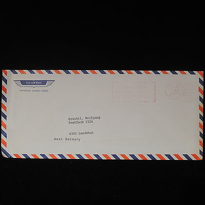 ZS-Z441 FIJI IND - Airmail, 1990 From Suva To Landshut West Germany Cover