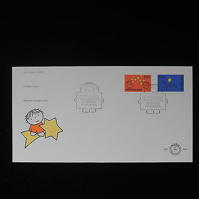 ZS-Z529 NETHERLANDS - Fdc, 1995 Angels, Stars Cover