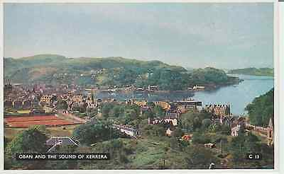 Early Postcard - Oban - & The Sound Of Kerrera - Argyllshire - Real Photo