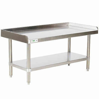 "30"" x 48"" Stainless Steel Table Commercial Mixer Grill Heavy Equipment Stand"