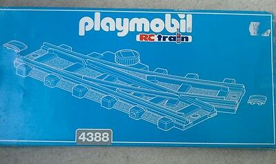 Playmobil left hand switch track 4388