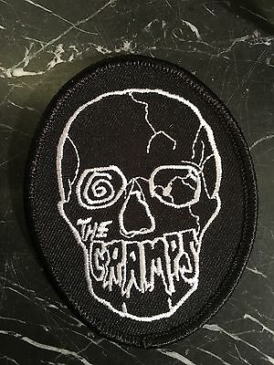 "The Cramps 1980 ""Skull"" Patch - The Real Poison Ivy's patch !"
