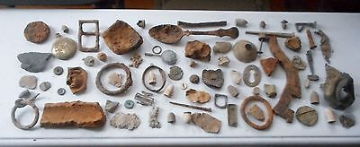 70 Or More Civil War Camp Dug Relic Collection