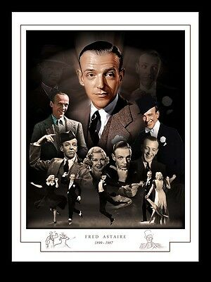 Fred Astaire Montage Print 1899 - 1987