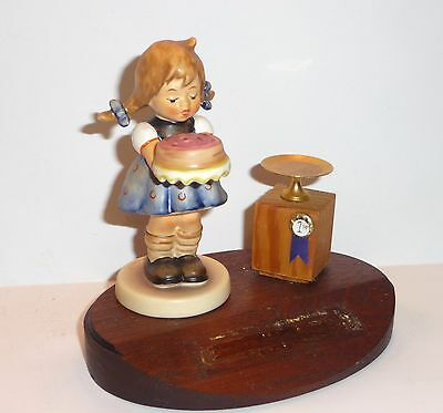 Vintage Hummel Collector's Club Display Sweet As Can Be Figurine