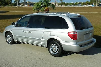 2002 Chrysler Town & Country Limited Sharp Mini Passenger Van~Chrome!! Heated Seats~Quad Seating~Leather~Goodrich Radials~Carfax Certified~03 04 05 06