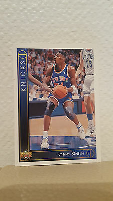 Carte Upper Deck 93/94 Charles Smith n°115