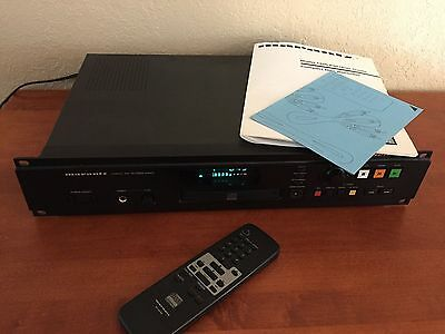 Nice Marantz CDR-630 Compact PROFESSIONAL Disc Recorder TESTED WORKING