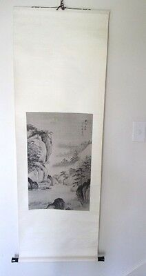 Vintage Chinese Hanging Scroll Picture