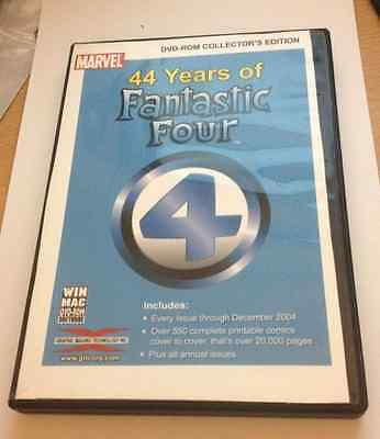 44 years of Fantastic Four Complete Run Git corp DVD Rom