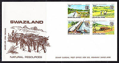 Swaziland 1973 Natural Resources  First Day Cover..- Unaddressed