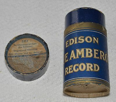 Edison Blue Amberol Cylinder Record #2272 - An Afternoon In June