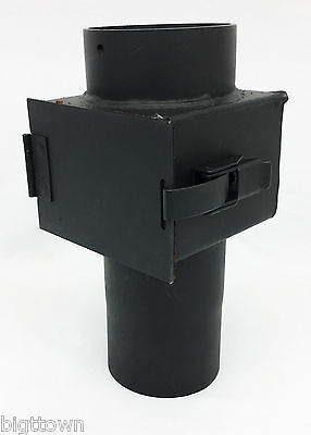 Quadra-Fire 1200 Hearth & Home 811-0620 Rear Vent Adapter w/ Cleanout NEW!
