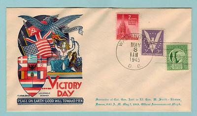 1945 Rare Staehle ***victory Day Cover*** May 8, 1945
