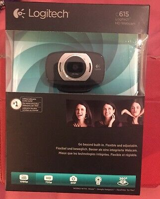 Logitech C615 HD Pro Webcam 1080p Video Calling (brand new and sealed)