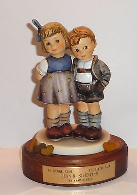 Vintage Hummel Collector's Club Display The Little Pair Figurine