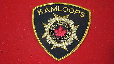 Patch - Fire Dept -  Kamloops - Canada