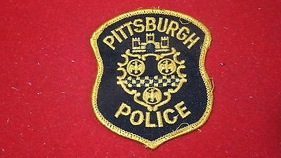 """Police Patch  -  Pittsburgh , Pennsylvania  - US  Small 3"""" x 3.5"""""""