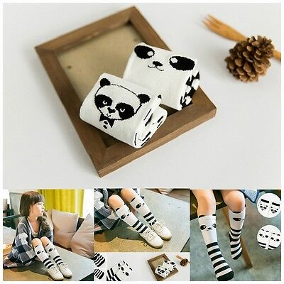 Baby Kids Toddlers Knee High Socks Panda Pattern Tights For Age 1-4 Years