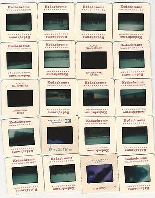 LOT OF 80 VINTAGE COLORED PHOTO SLIDES OF TRAINS 1960 1970 s