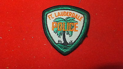 Police Patch  - Ft,. Lauderdale   , Florida - US