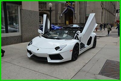 2014 Lamborghini Aventador Long-term financing available for $3484 /month 2014 LP700-4 CERTIFIED WARRANTY THRU OCTOBER 2017