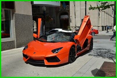 2014 Lamborghini Aventador Long-term finance program $3131/month 2014 LP700-4 Aventador Roadster