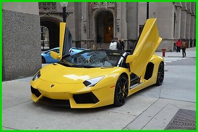 2015 Lamborghini Aventador Long-term finance program $3297/month 2015 Lamborghini Aventador Roadster CERTIFIED VEHICLE