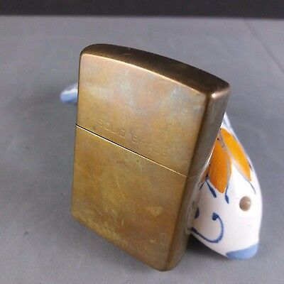 Zippo 1932 - 1991 Solid Brass Cigarette  Lighter RARE No Reserve