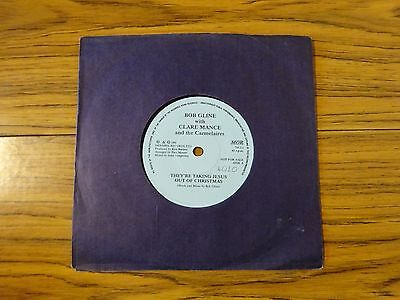 "Bob Gline & Clare Mance - They're Taking Jesus Out Of.. (Denabel 1990) 7"" Single"
