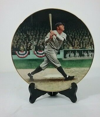 """""""Babe Ruth the Called Shot"""" Delph 1992 Collection Plate 8"""""""