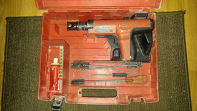 Hilti DX-35 Powder Actuated Fastening Systems Nail Gun w/ case.