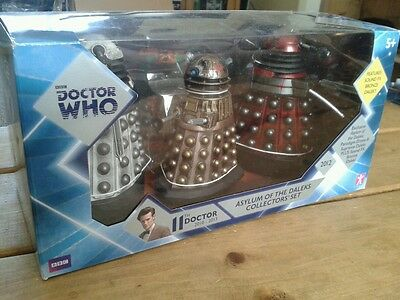 Dr Doctor Who Asylum Of The Daleks Collectors Set New Sealed Mib