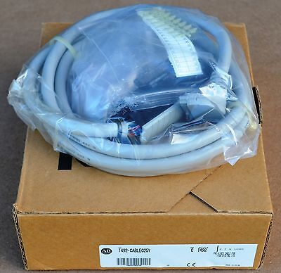 New 1492-CABLE025Y Allen-Bradley Pre-wired I/O Cable