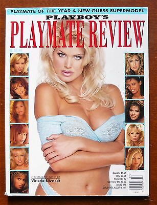 Vintage Playboy Playmate Review 1997 Playmate Signed Very cool - Nice
