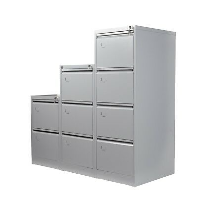 SALE!! White 3 Drawers Filing Cabinet Steel-Lockable. FULLY ASSEMBLED!!