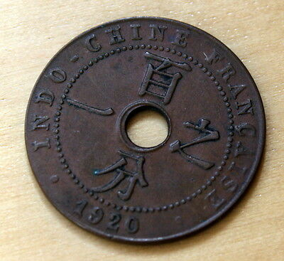1920 French Indo-China 1 Cent