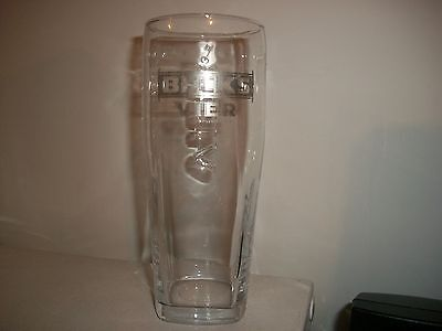 Rare-- Beck's Vier-Embossed On 3 Sides- I Pint Beer Glass