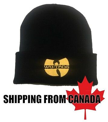Method Man's Brand New Wu Tang Beanie, Hip Hop Rap Tuque Hat Hot Warm Look