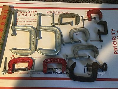 C Clamp Lot 10 clamps