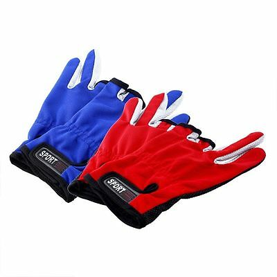 Refers Mitts Tackle Refers Fingers Three Glove Non Slip Low Fishing Gloves