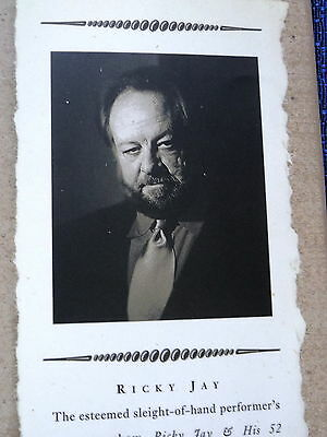 Ricky Jay's Journal Of Anomalies New Hardcover Book 1St Edition 2001 Collectible
