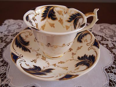 Antique Rockingham Cup and Saucer