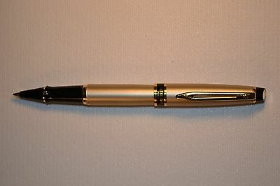 Waterman, Expert II, Stainless Steel with gold trim Rollerball