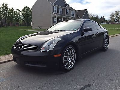 2005 Infiniti G35 Base Coupe 2-Door 2005 G35 with 6 speed and Rev up Engine!  Fully loaded - Nav- Bluetooth