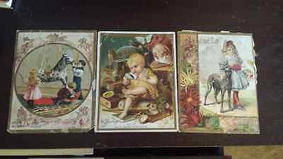 LOT OF 9 TRADING CARDS 8 W. F. McLaughlin & Co. & 1 WOOLSON SPICE CO